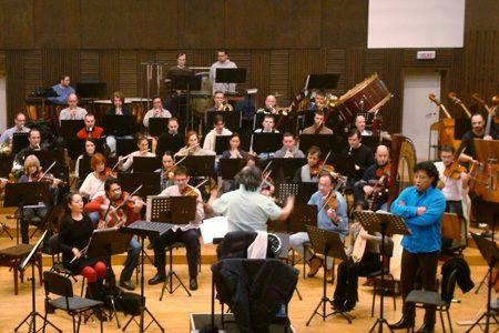 Mit dem Philharmonischen Orchester in Belgrad