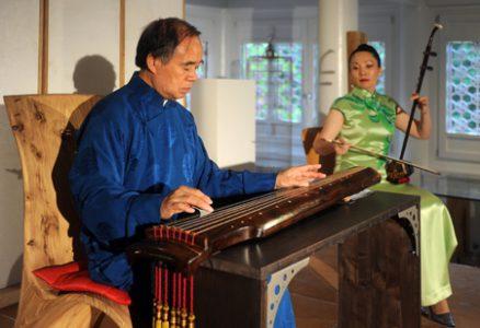 Professor Li Xiangting im Chinahaus Freiberg